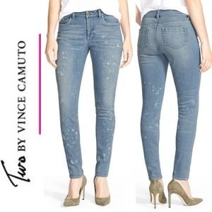 Two by Vince Camuto Super Skinny Stretch Jeans